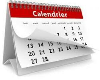 Le calendrier des fêtes